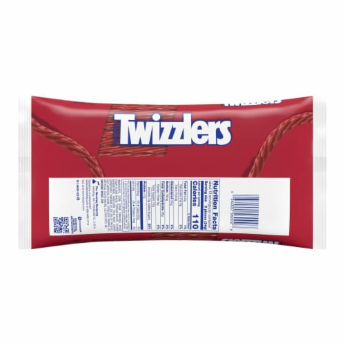Twizzlers Twists Strawberry Flavored Candy Perspective: back