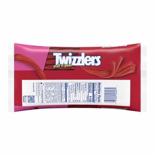 Twizzlers Pull 'n' Peel Cherry Candy Perspective: back