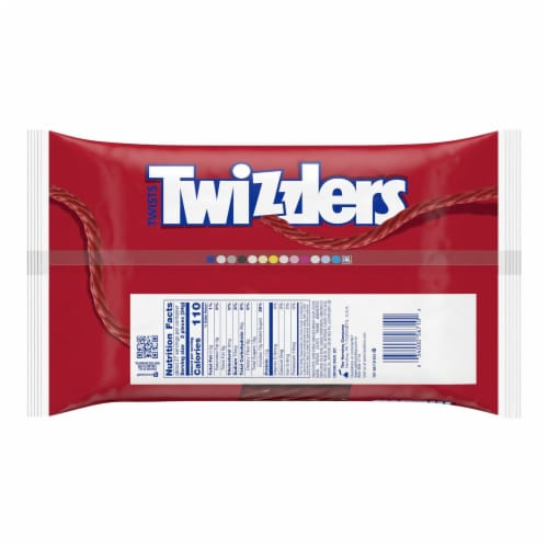 Twizzlers Strawberry Twists Licorice Candy Big Bag Perspective: back