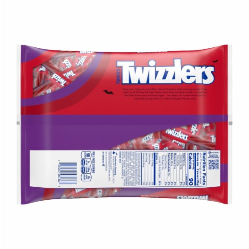 Twizzlers Strawberry Snack Size Twists Perspective: back