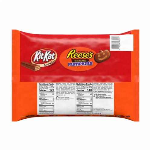 Hershey's Snack Size Candy Assortment Perspective: back
