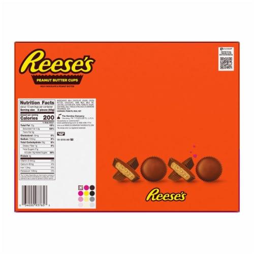 Reese's Peanut Butter Cups Ultimate Lover's Box Perspective: back
