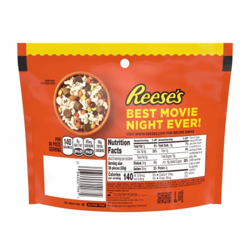 Reese's Pieces Pouch Perspective: back