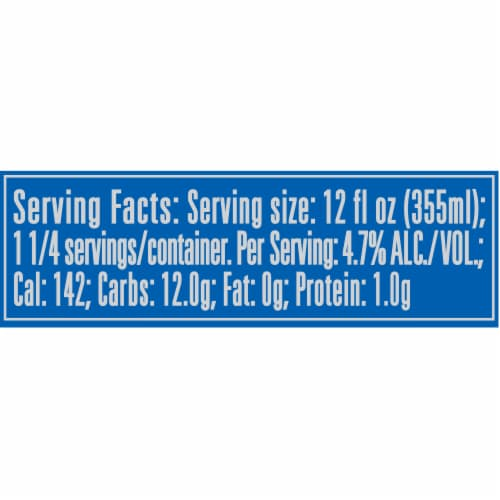 Hamm's America's Classic Premium Lager Beer Perspective: back