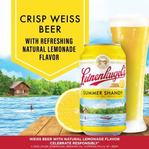 Leinenkugel's Summer Shandy Weiss Beer Perspective: back