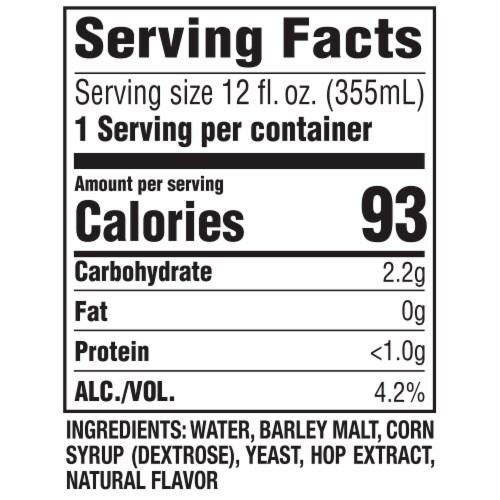 Leinenkugel's Spritzen Grapefruit Beer Perspective: back