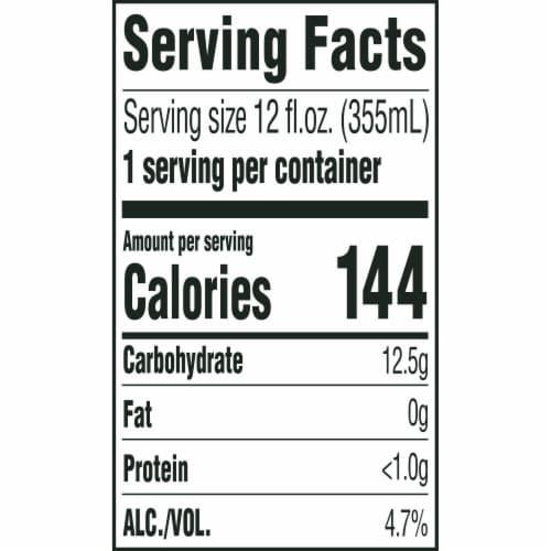 Miller Genuine Draft American Lager Beer Perspective: back