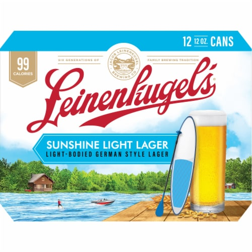 Leinenkugel's Oktoberfest Beer Perspective: back