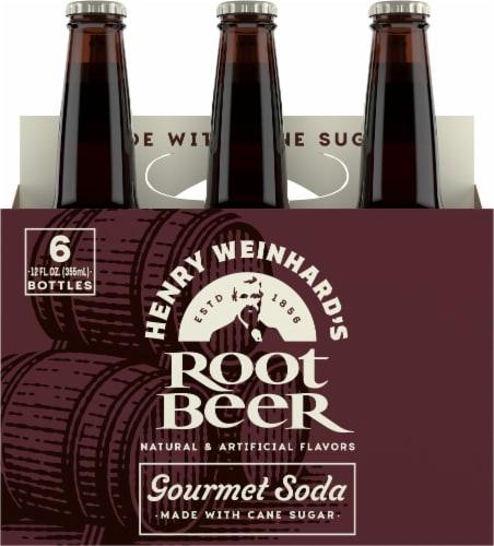 Henry Weinhard's Root Beer Perspective: back