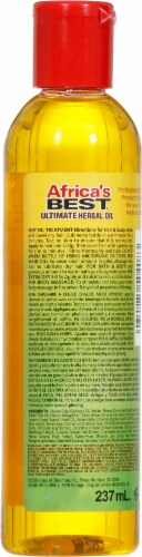 Africa's Best Ultimate Herbal Oil Perspective: back