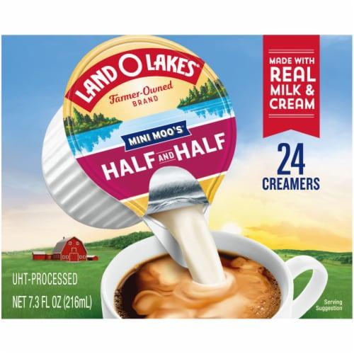 Land O' Lakes Mini Moo's Half & Half Coffee Creamer Perspective: back
