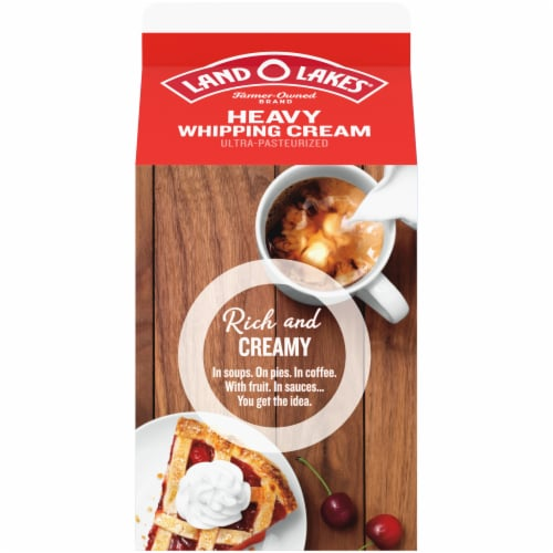 Land O' Lakes Heavy Whipping Cream Perspective: back
