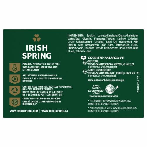 Irish Spring Aloe Bar Soap Perspective: back