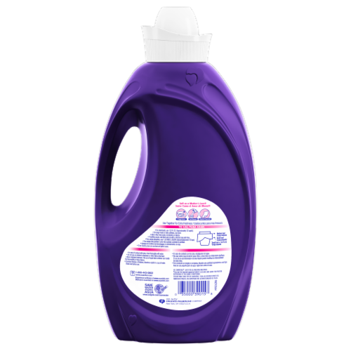 Suavitel Soothing Lavender Liquid Fabric Softener Perspective: back