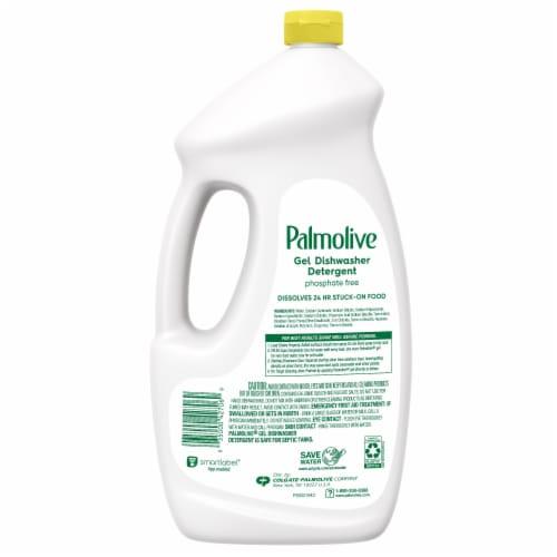 Palmolive® Eco+® Lemon Dishwasher Detergent Gel Perspective: back
