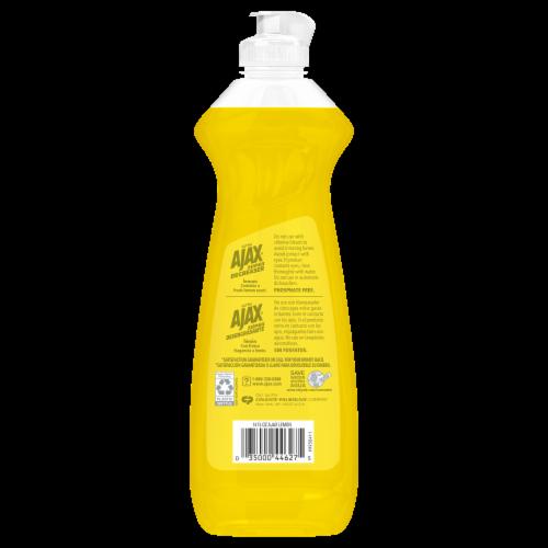 Ajax Ultra Super Degreaser Lemon Dish Liquid Perspective: back