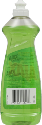 Ajax Lime Bleach Alternative Dish Liquid Perspective: back