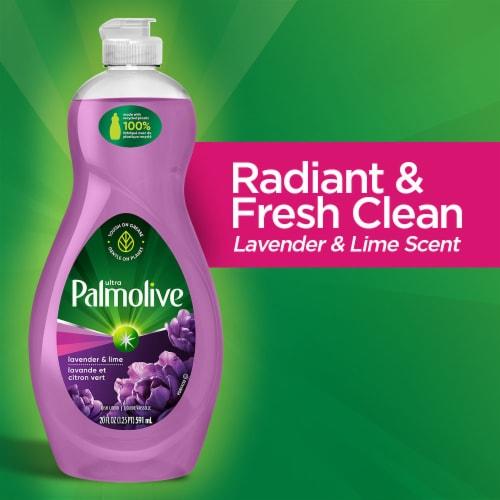 Palmolive Ultra Lavender & Lime Dish Liquid Perspective: back