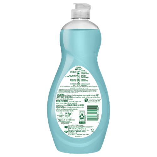 Palmolive Ultra Soft Touch Aloe & Citrus Dish Liquid Perspective: back