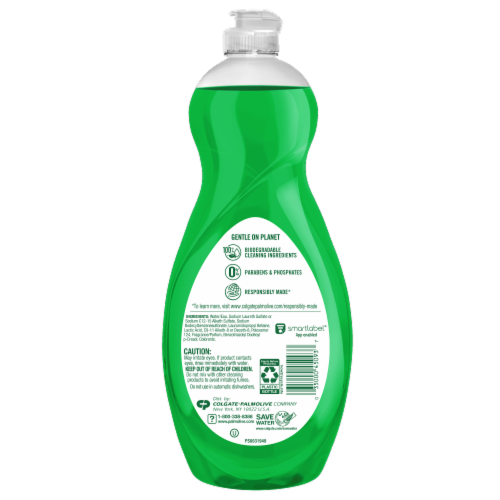 Palmolive Ultra Strength Original Dish Liquid Perspective: back