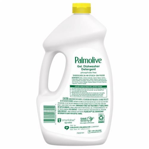 Palmolive® Eco+® Lemon Splash Gel Dishwasher Detergent Perspective: back