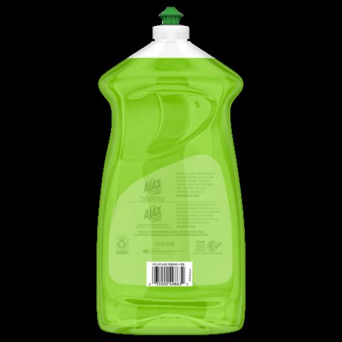Ajax Ultra Vinegar + Lime Liquid Dish Soap Perspective: back