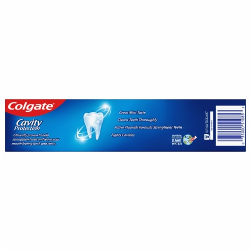 Colgate Cavity Protection Toothpaste Perspective: back