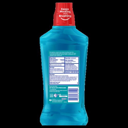 Colgate Enamel Health Sparkling Fresh Mint Mouthwash Perspective: back
