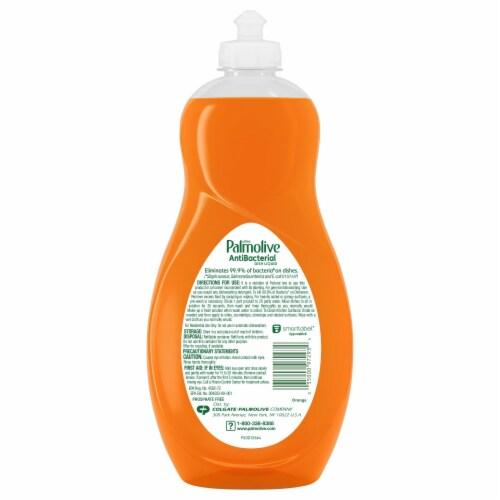 Palmolive Ultra Antibacterial Dish Liquid Perspective: back