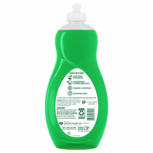 Palmolive Ultra Strength Dish Liquid Perspective: back