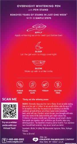 Colgate Optic White Overnight Whitening Pen Perspective: back