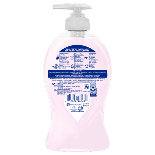 Softsoap Lavender & Shea Liquid Moisturizing Hand Soap Perspective: back
