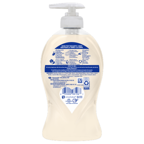 Softsoap Warm Vanilla & Coconut Milk Liquid Moisturizing Hand Wash Perspective: back