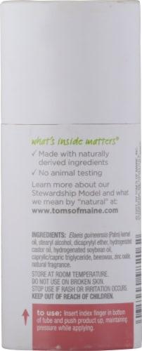 Tom's of Maine Natural Strength Fresh Powder Women's Deodorant Perspective: back