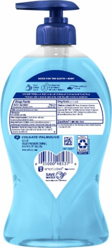 Softsoap Clean & Protect Powder Clean Antibacterial Liquid Hand Soap Perspective: back