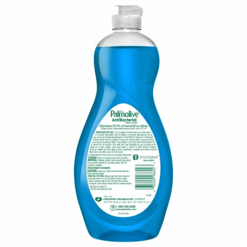Palmolive Ultra Antibacterial Fresh Clean Dish Soap Perspective: back