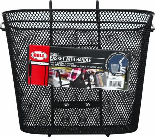 Bell Tote 510 QR Handlebar Basket Perspective: back