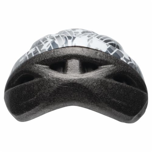 Bell Rally Child Bike Helmet - Dark Gray/White Perspective: back