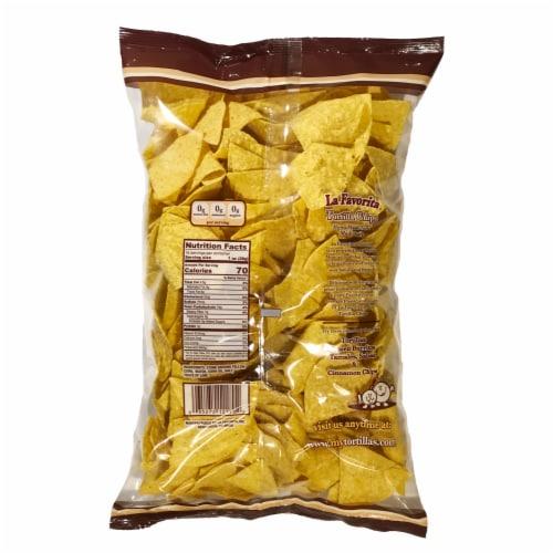 La Favorita Tortilla Chips Perspective: back