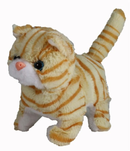 Casanova The Mechanical Kitten - Orange Striped Perspective: back