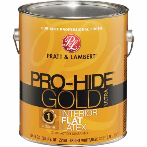 Pratt & Lambert Int Flt Bright Wht Paint 0000Z8180-16 Perspective: back