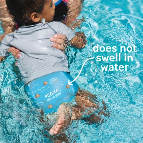 Huggies Little Swimmers Size 4 Swim Diapers Perspective: back