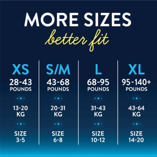 Goodnites S/M Bedwetting Underwear for Boys Perspective: back