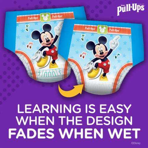 Pull-Ups Learning Designs Boys 3T-4T Training Pants Perspective: back