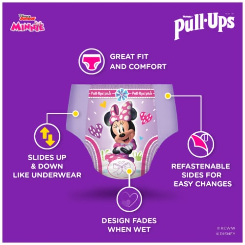Pull-Ups Learning Designs Girls 4T-5T Training Pants Perspective: back