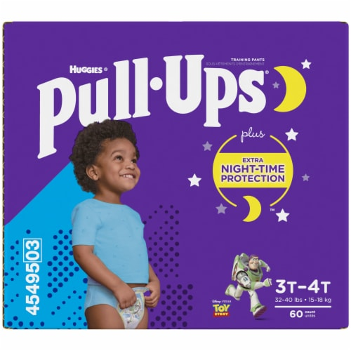 Pull-Ups® 3T-4T Boys Night Time Training Pants Perspective: back