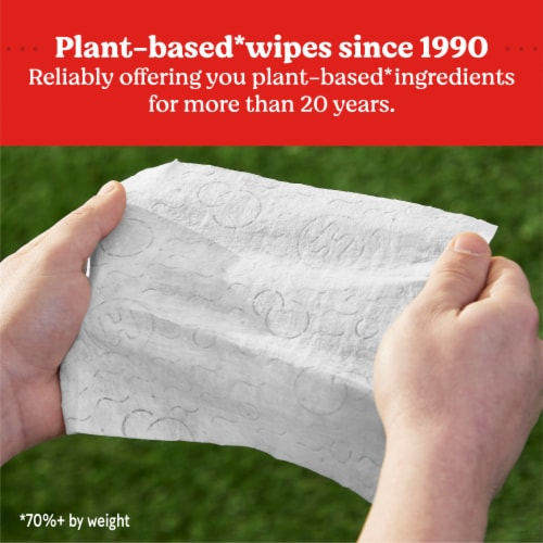 Huggies® Simply Clean Fragrance Free Baby Wipes Perspective: back