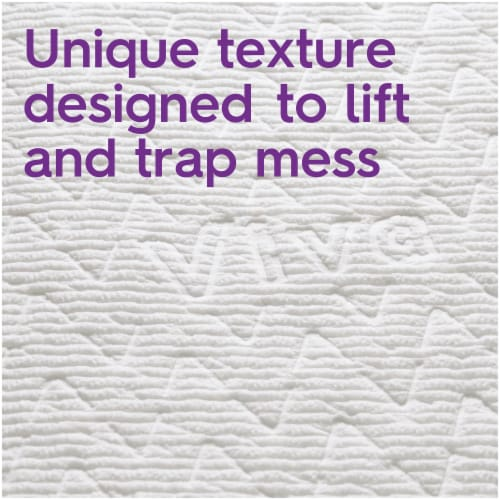 Viva Choose-A-Sheet Multi-Surface Cloth Paper Towels Big Rolls Perspective: back