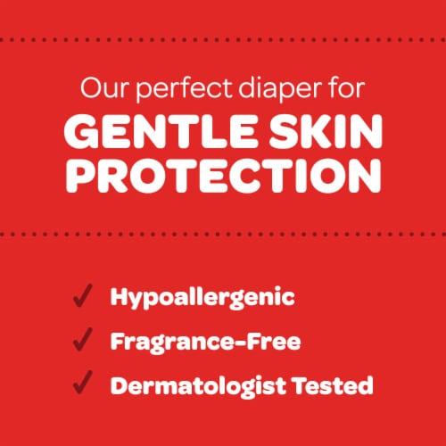 Huggies Little Snugglers Size 1 Baby Diapers Perspective: back