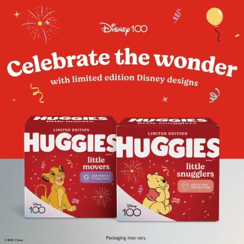 Huggies Little Snugglers Newborn Baby Diapers Perspective: back